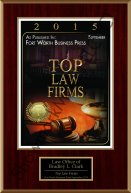 2015 Best Law Firms Award